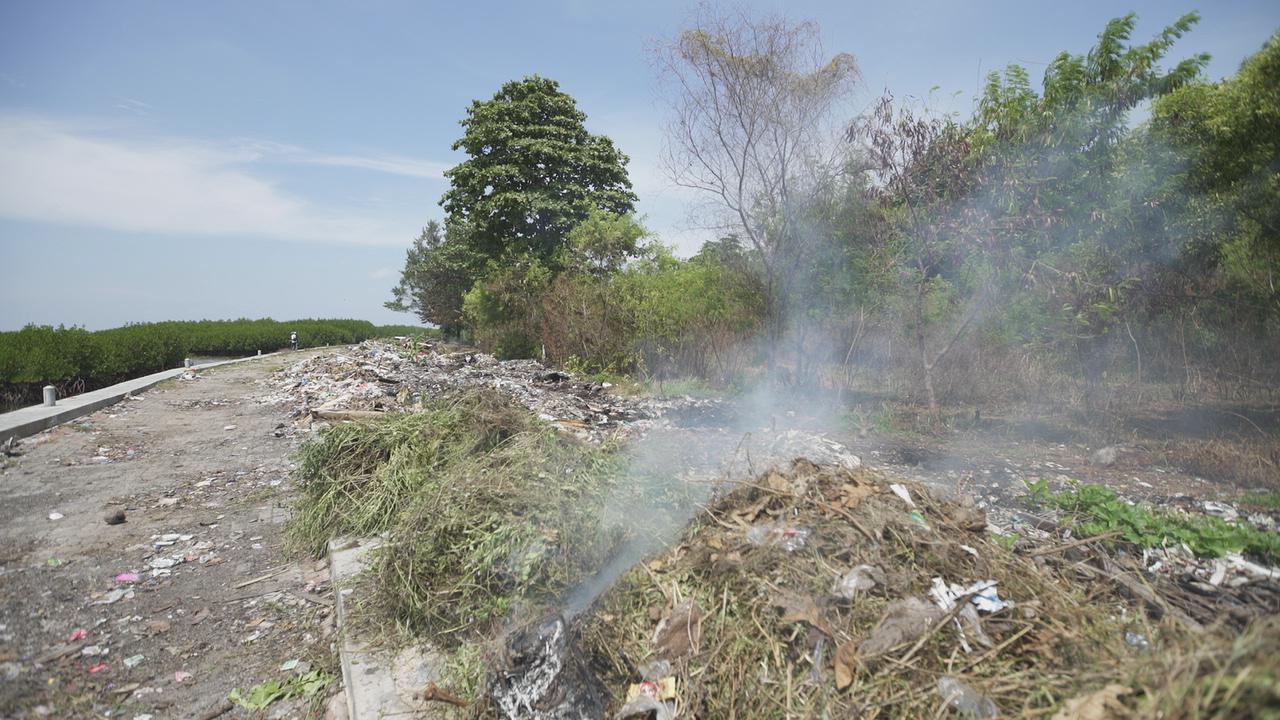 Tumpukan Sampah, Masalah pelik di KBA Pulau Pramuka