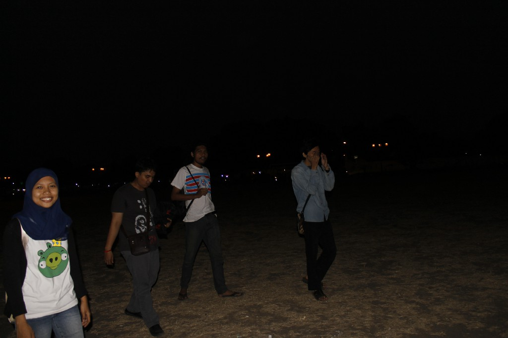 Suasana Malam Aun-alun Jogja