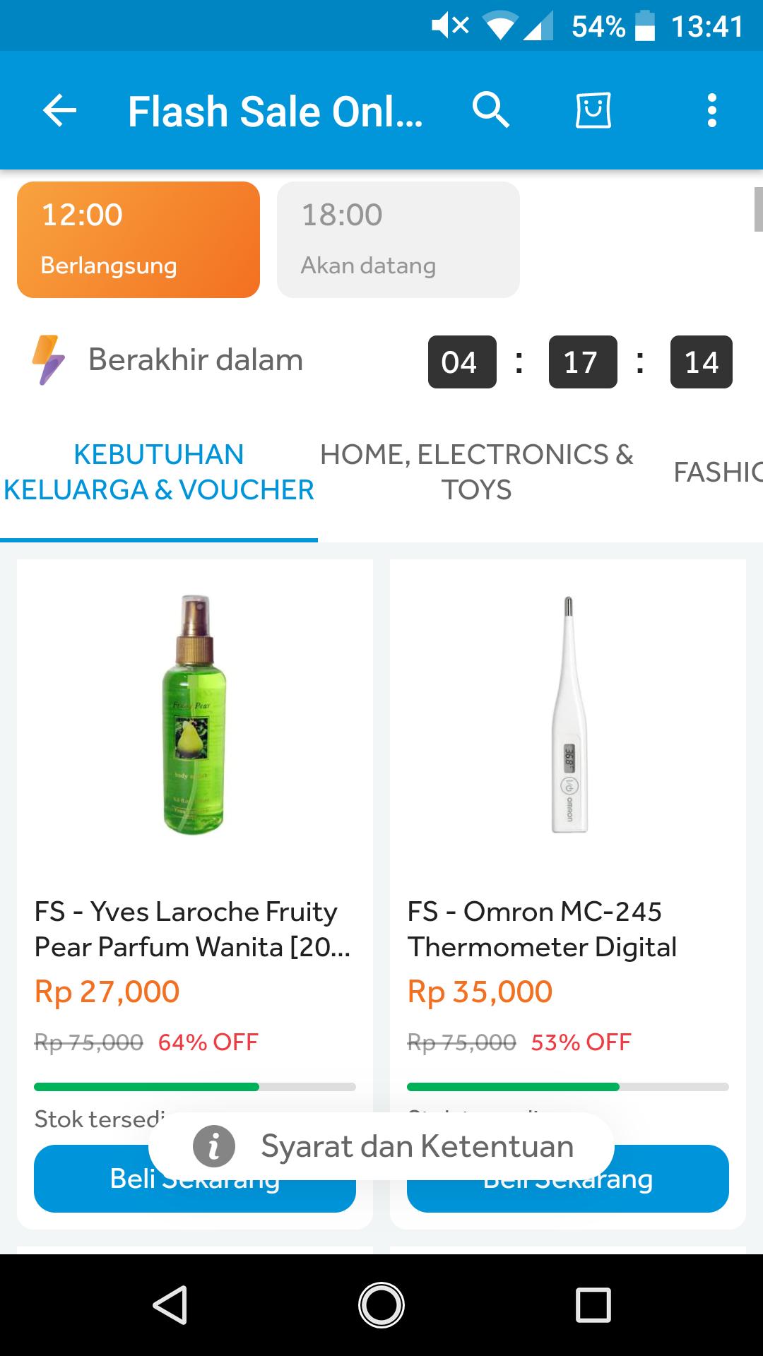 Flash Sale Harga Miring
