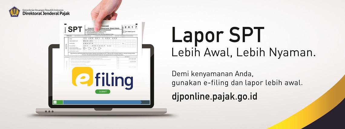 Pakai e-filing! Ikuti Tata Cara Pelaporan Pajak berikut