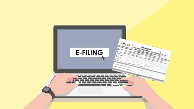 Panduan singkat untuk lapor pajak secara online